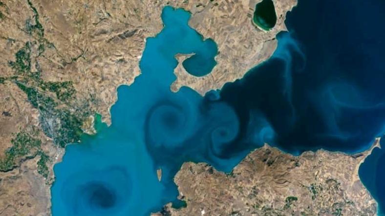 Van Gölü Fotoğrafı, NASA'nın Fotoğraf Yarışmasında Finalist