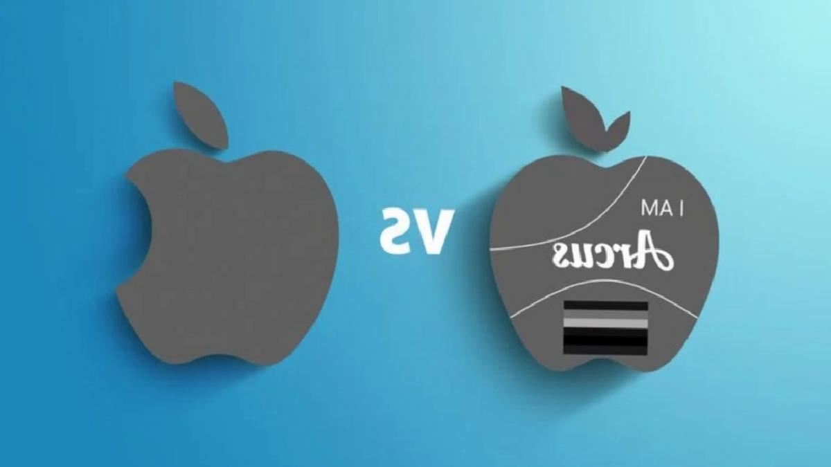Apple, elma logosu kullanan şişe su üreticisine dava açtı
