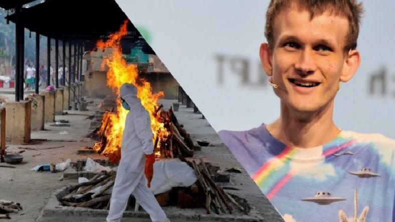 Ethereum'un Kurucusu Hindistan'a 50 Trilyon SHIB Bağışladı