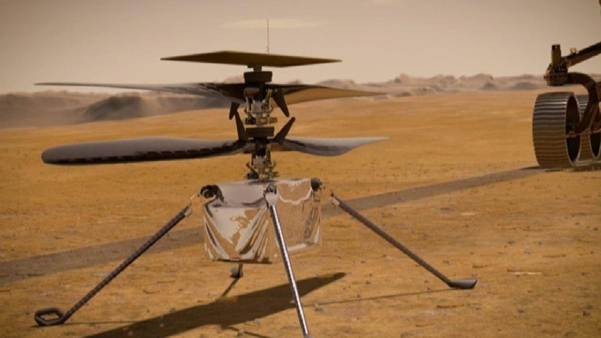 Kanatlarda sorun çıktı: NASA, Mars helikopterinin uçuşunu erteledi