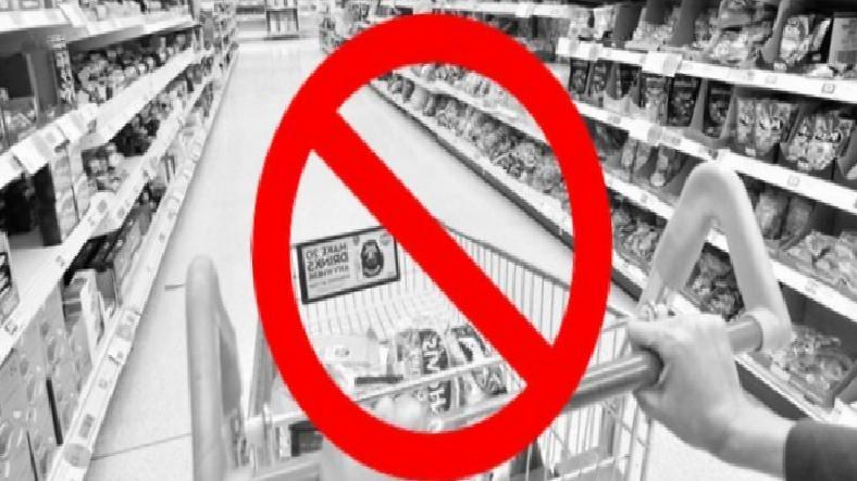 Marketlerde Temel İhtiyaçlar Dışında Ürün Satışı Yasaklandı