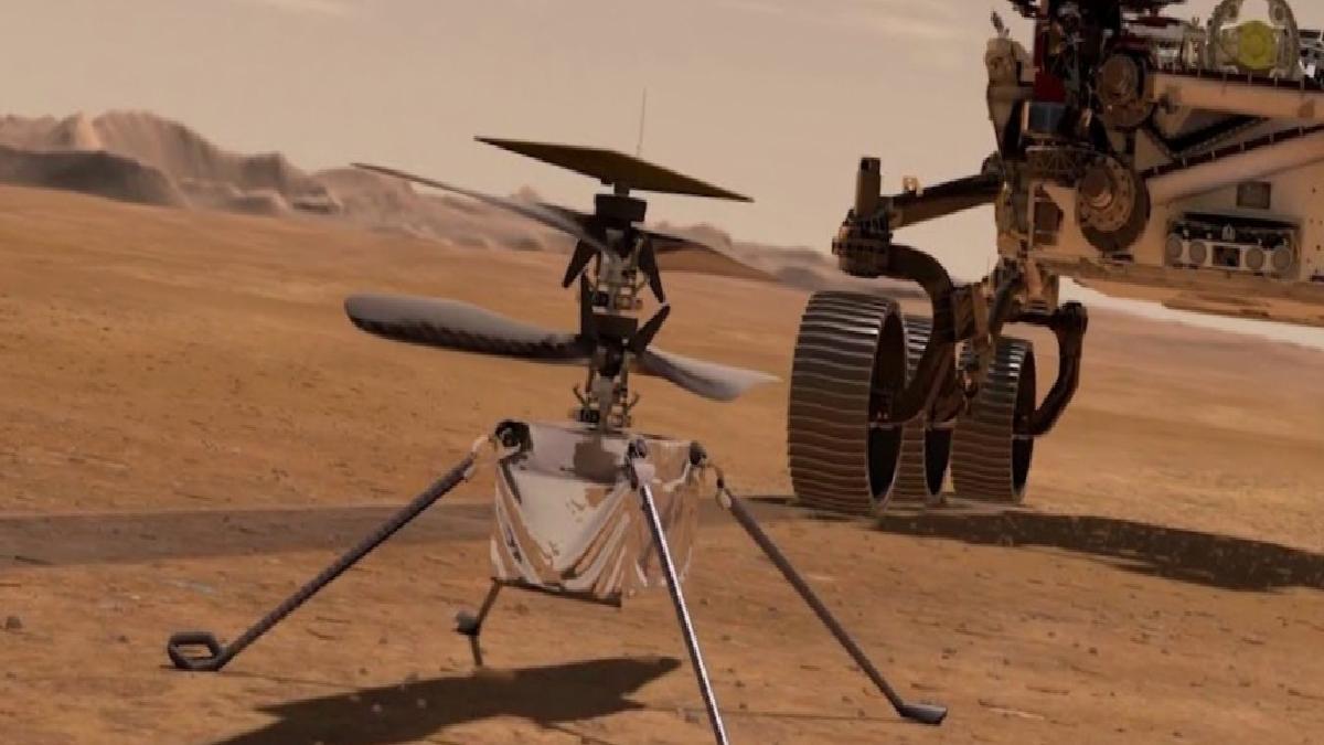 Mars helikopteri Ingenuity, 19 Nisan'da havalanacak