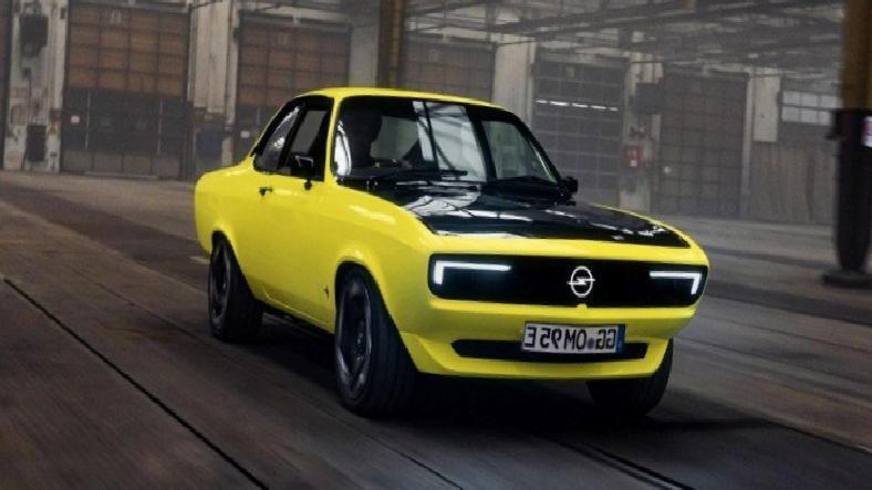 Opel'in Modernize Ettiği Konsept Otomobil: Manta GSe [Video]