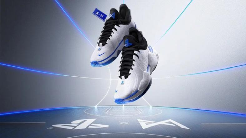 Paul George'tan PlayStation 5 Temalı Basketbol Ayakkabısı