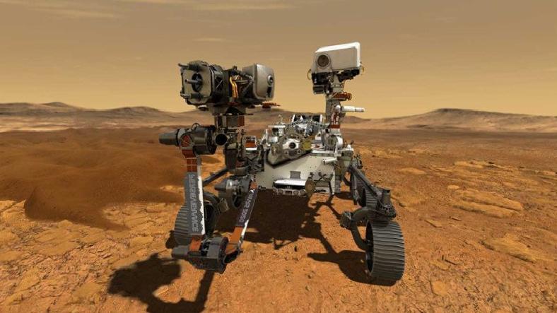 Perseverance'tan Mars Taşlarının Yakın Görüntüleri Geldi
