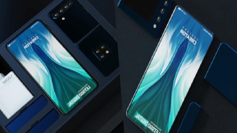Xiaomi'nin Söküp Takılabilen Modüler Telefon Konsepti