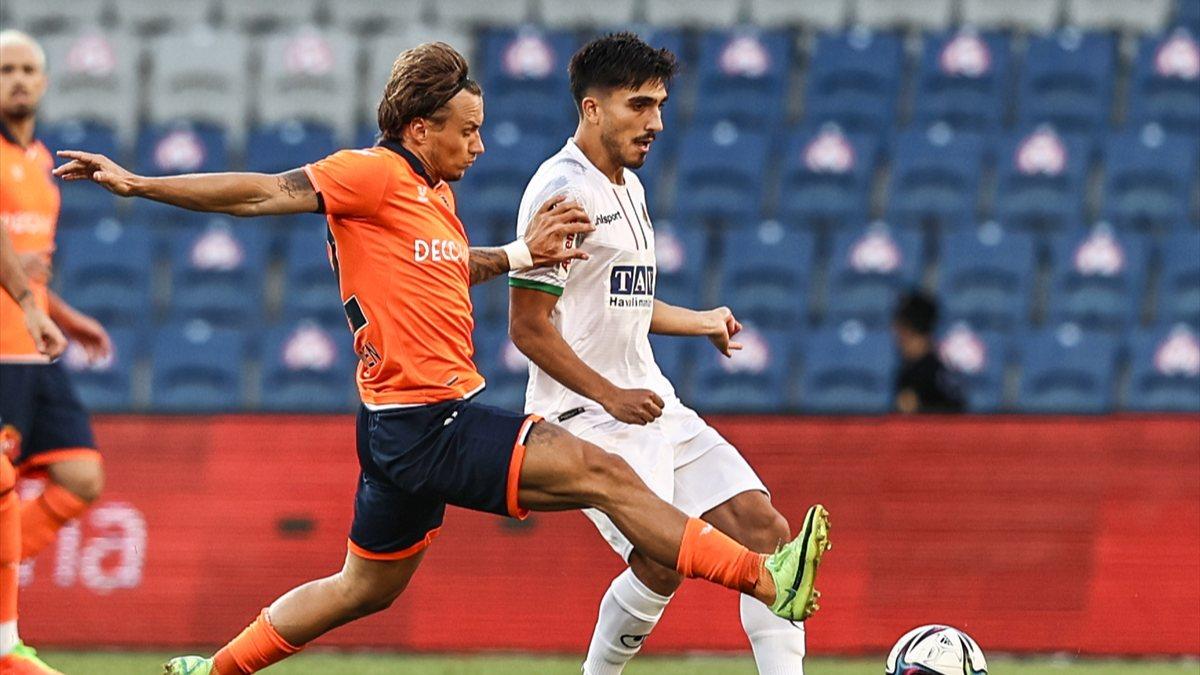 Alanyaspor, Başakşehir'i 1-0 mağlup etti