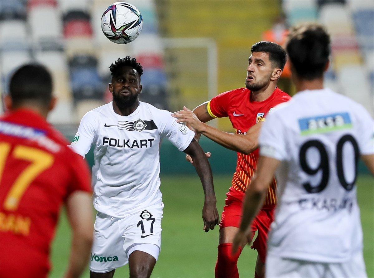 Altay, sahasında Kayseri ye 3 gol attı #3
