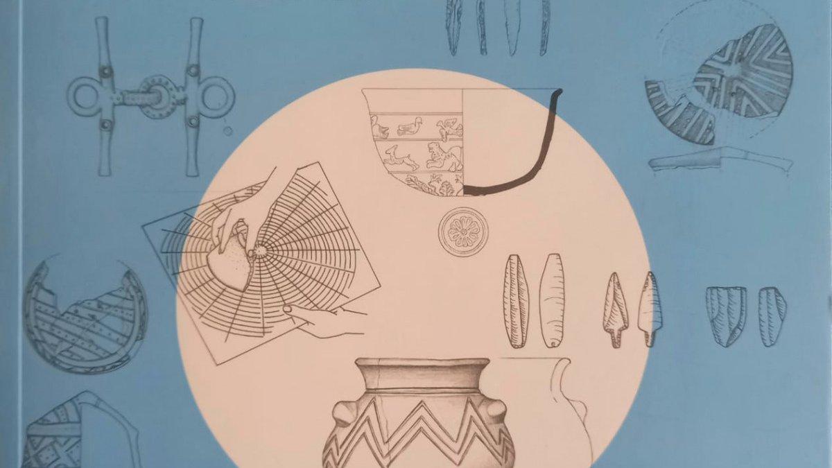 Arkeoloji öğrencilerine yol gösterecek kitap: Arkeolojik Küçük Buluntu Çizim Teknikleri