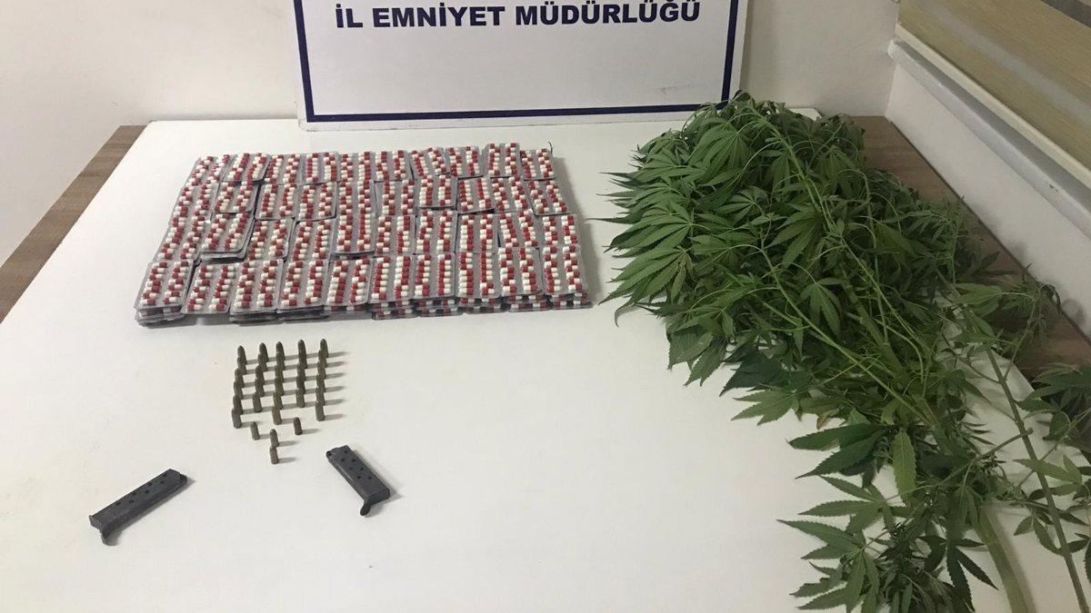 Balıkesir'de polis ve jandarmadan 61 şahsa gözaltı