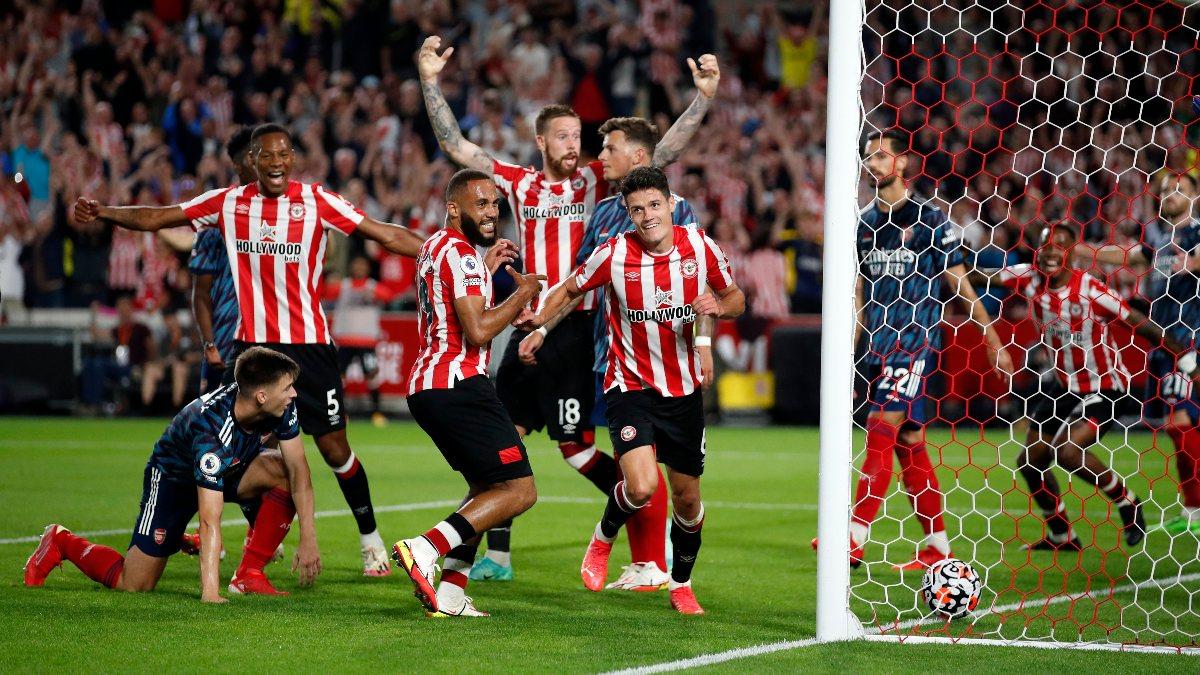 Brentford, Arsenal'i 2 golle mağlup etti