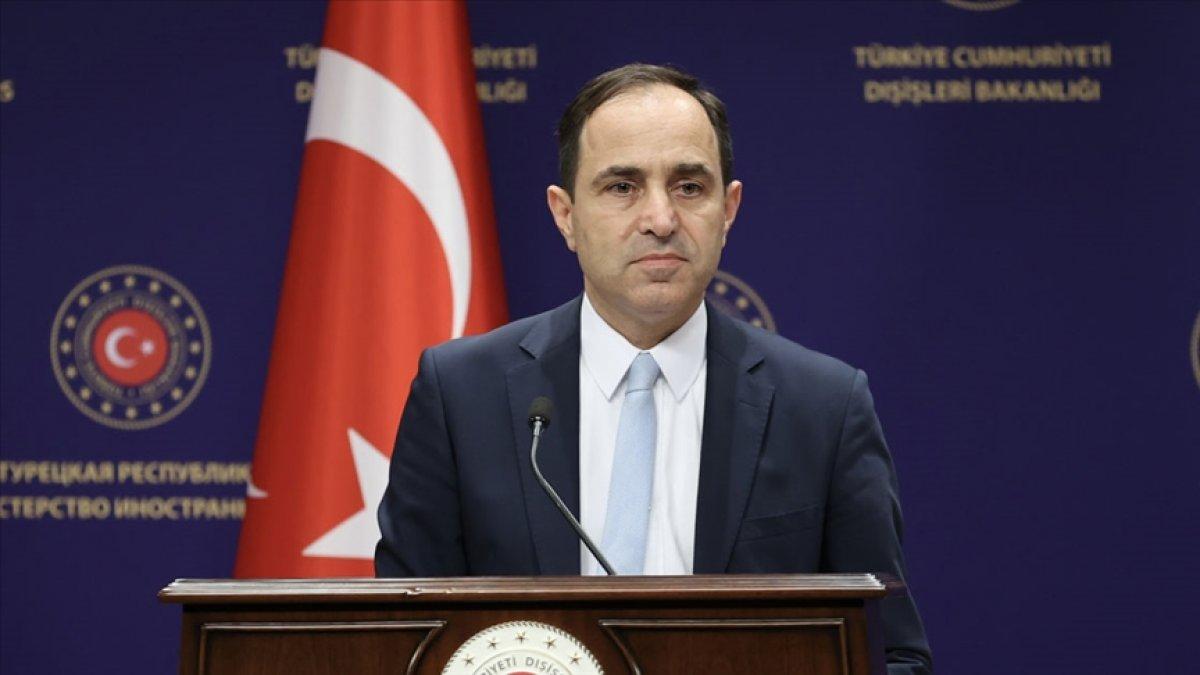 Dışişleri Bakanlığı ndan Yunanistan a ülkeye giriş tepkisi #1