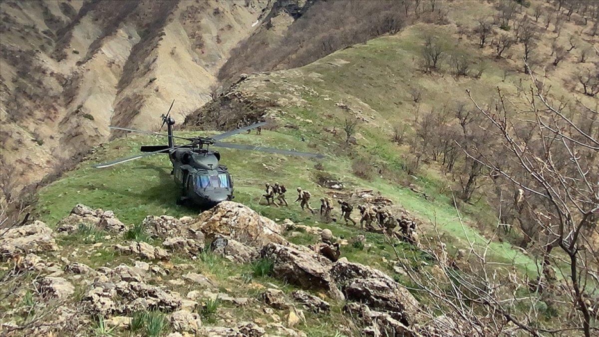 Eren-13 Operasyonları kapsamında 3 terörist öldürüldü