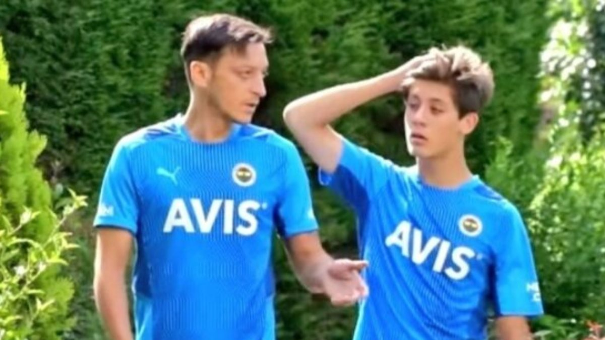 Gençlerin Mesut Özil ağabeyi