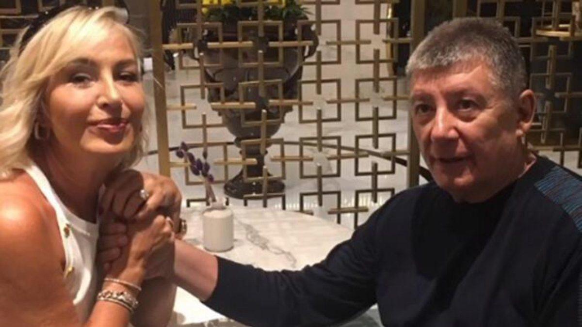Gülenay Kalkan, Tarık Ünlüoğlu'nun doğum gününü kutladı