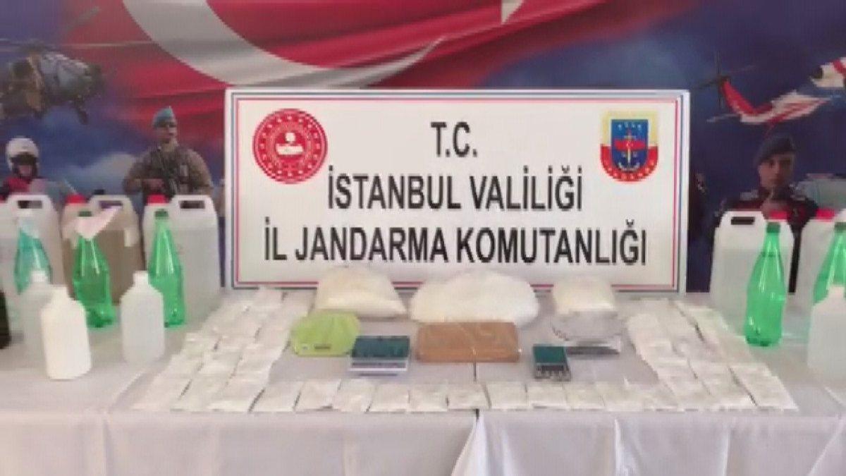 İstanbul'da kokain mucitleri yakalandı