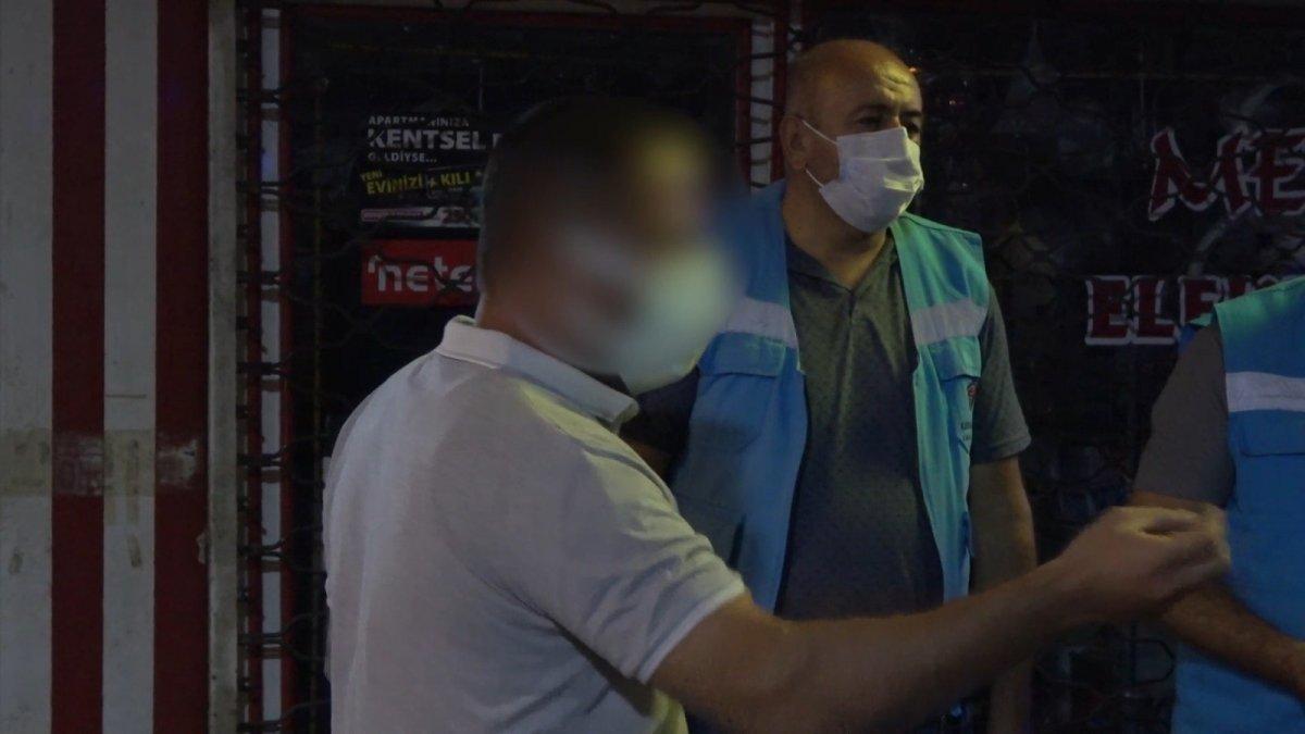 Kırıkkale'de korona testi pozitif olan kişi meyhanede yakalandı