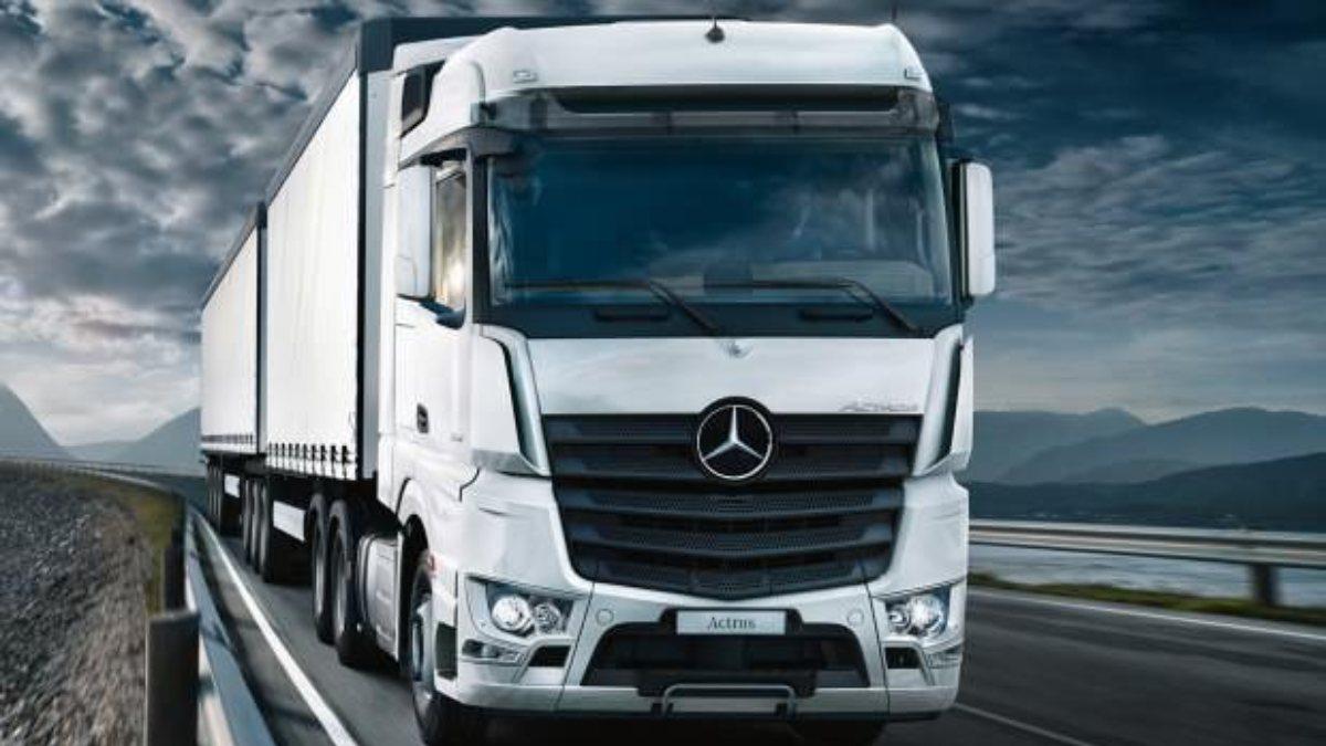 Mercedes-Benz Türk, 300 bininci kamyonunu üretti