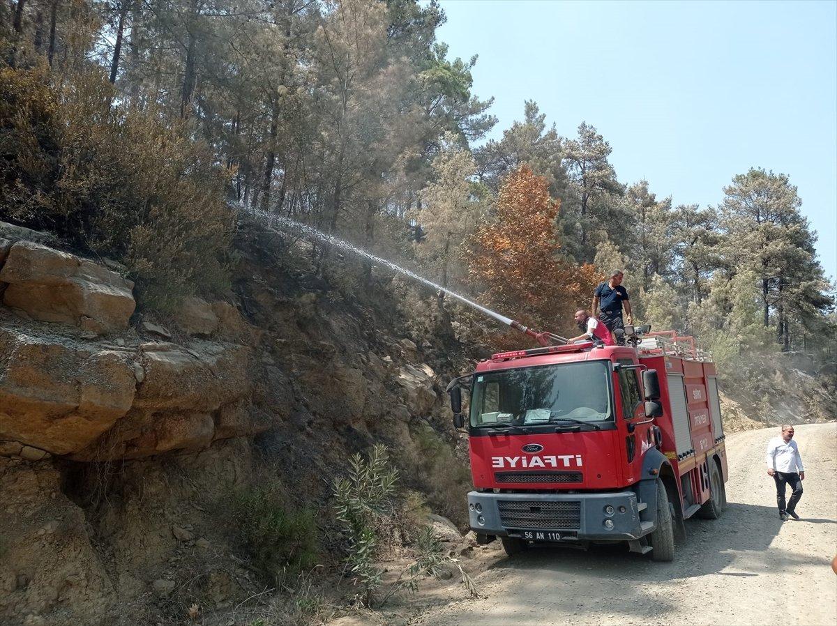Siirtli itfaiyeciler, Antalya daki yangınlarda yaşadıklarını anlattı #1