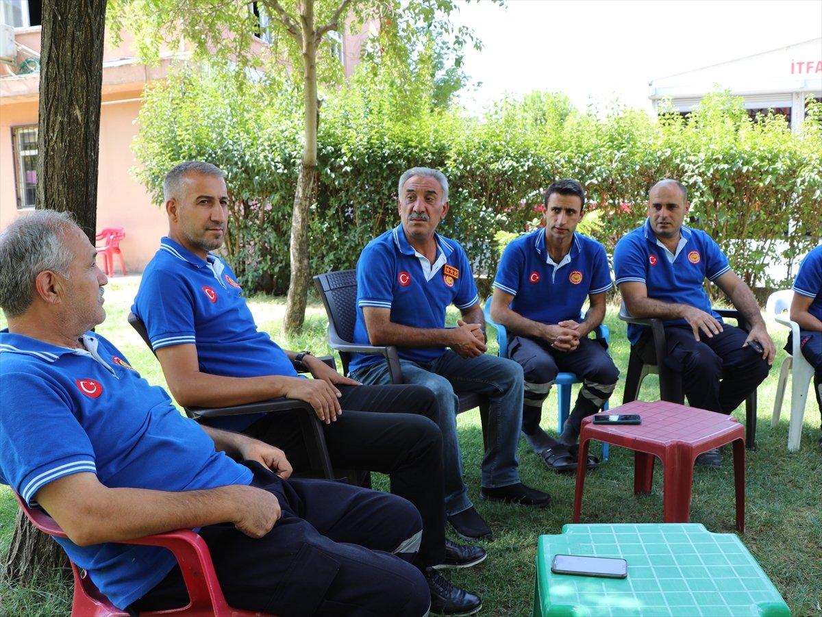 Siirtli itfaiyeciler, Antalya daki yangınlarda yaşadıklarını anlattı #2