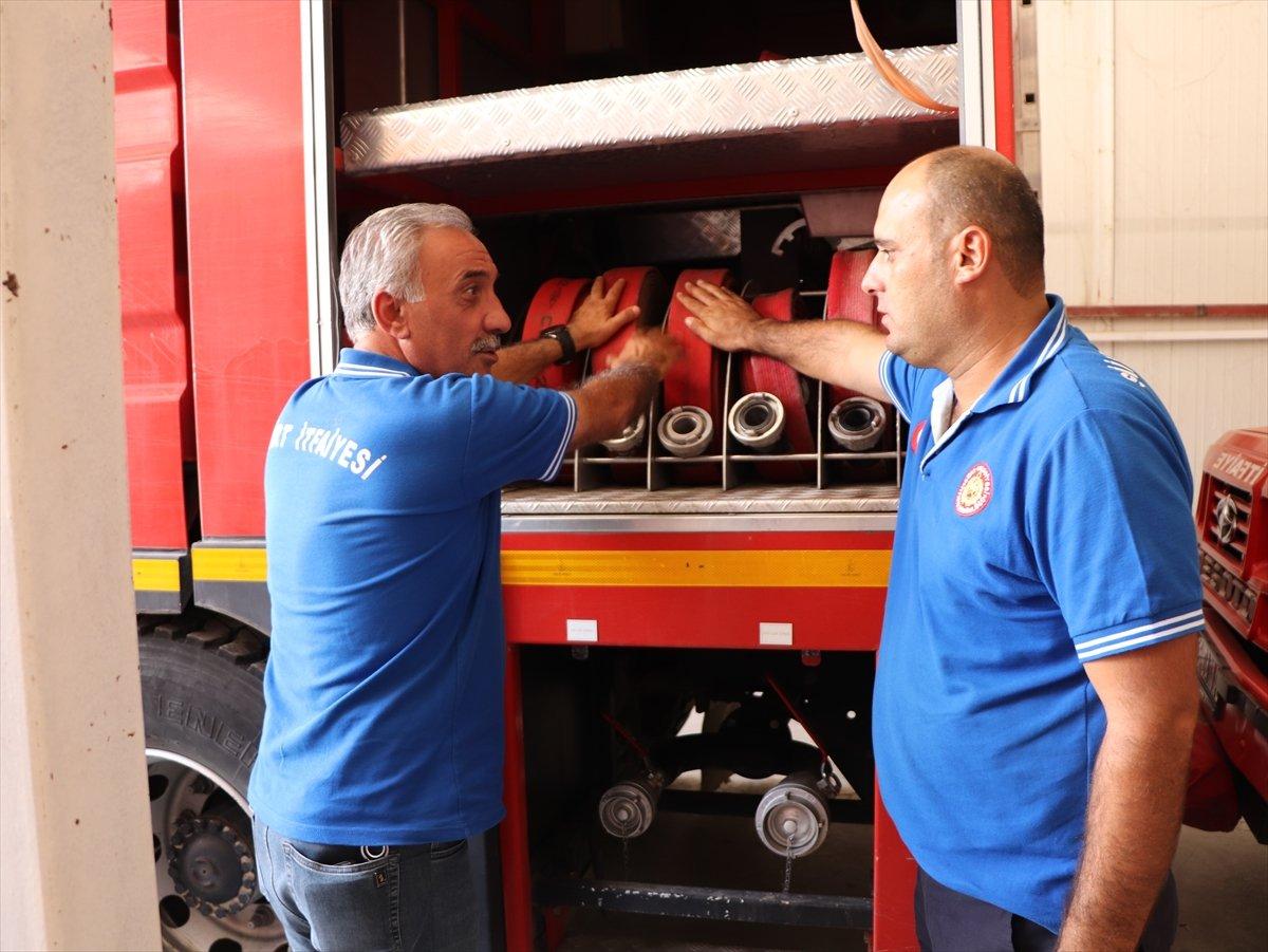 Siirtli itfaiyeciler, Antalya daki yangınlarda yaşadıklarını anlattı #3
