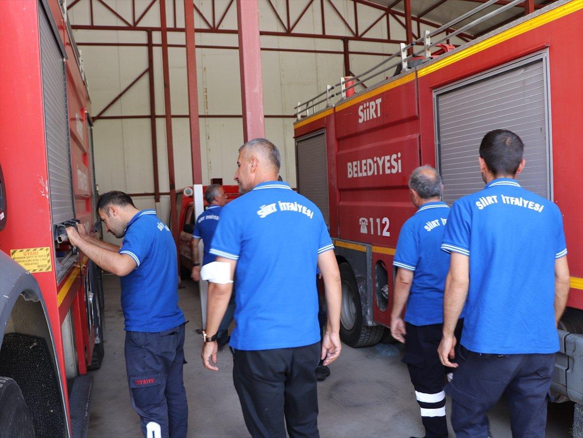 Siirtli itfaiyeciler, Antalya daki yangınlarda yaşadıklarını anlattı #5