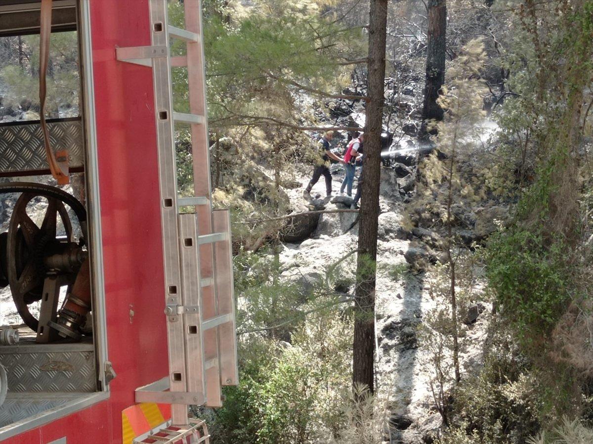 Siirtli itfaiyeciler, Antalya daki yangınlarda yaşadıklarını anlattı #6