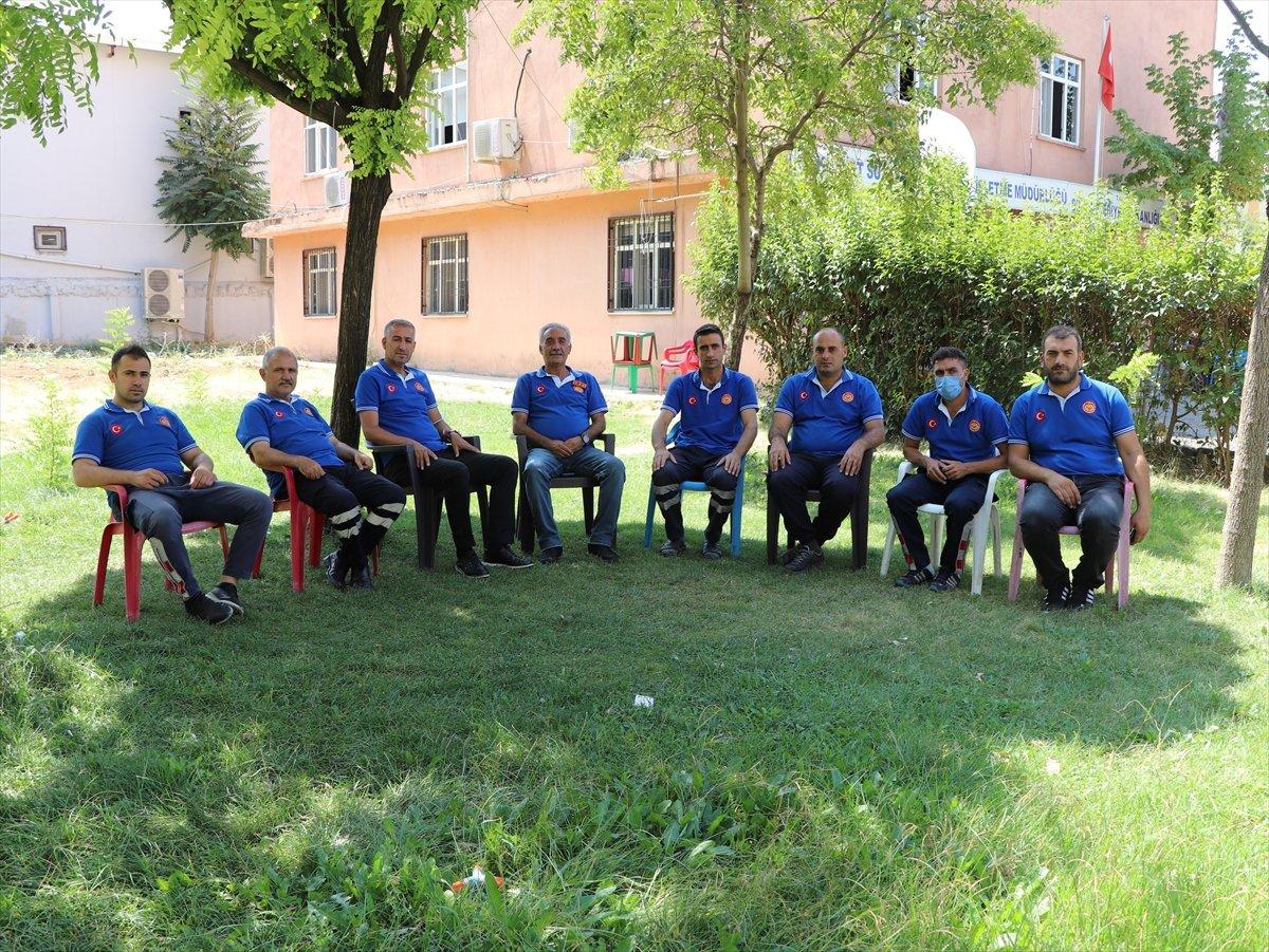 Siirtli itfaiyeciler, Antalya daki yangınlarda yaşadıklarını anlattı #7