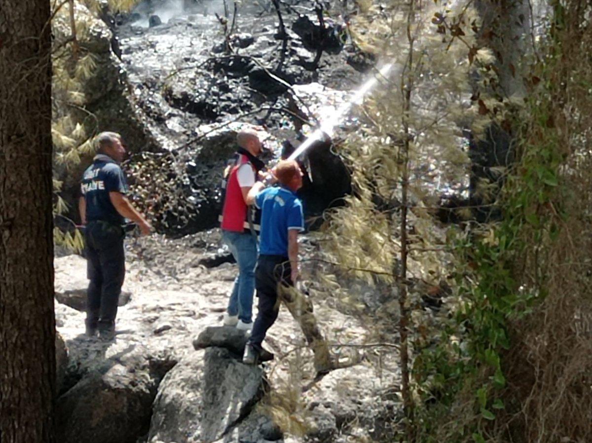 Siirtli itfaiyeciler, Antalya daki yangınlarda yaşadıklarını anlattı #8