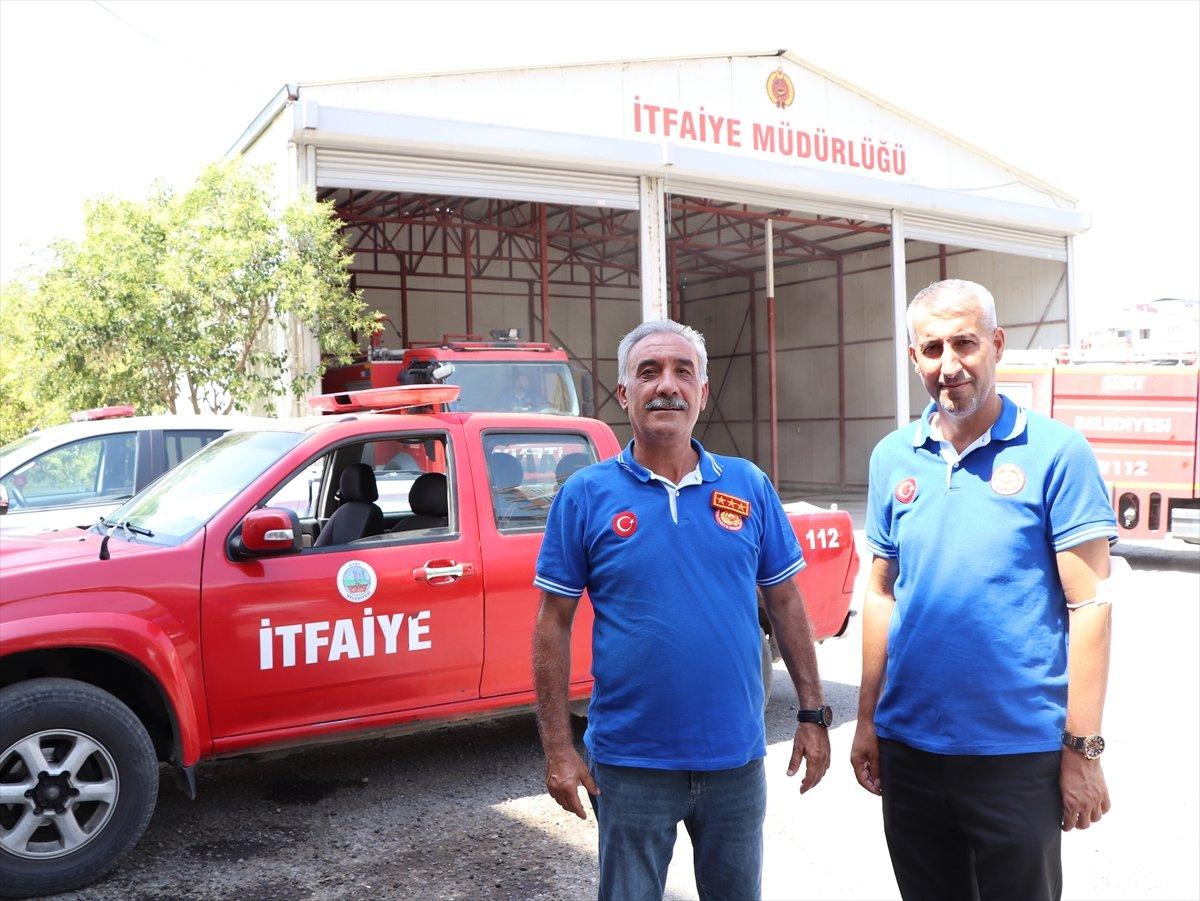 Siirtli itfaiyeciler, Antalya daki yangınlarda yaşadıklarını anlattı #10