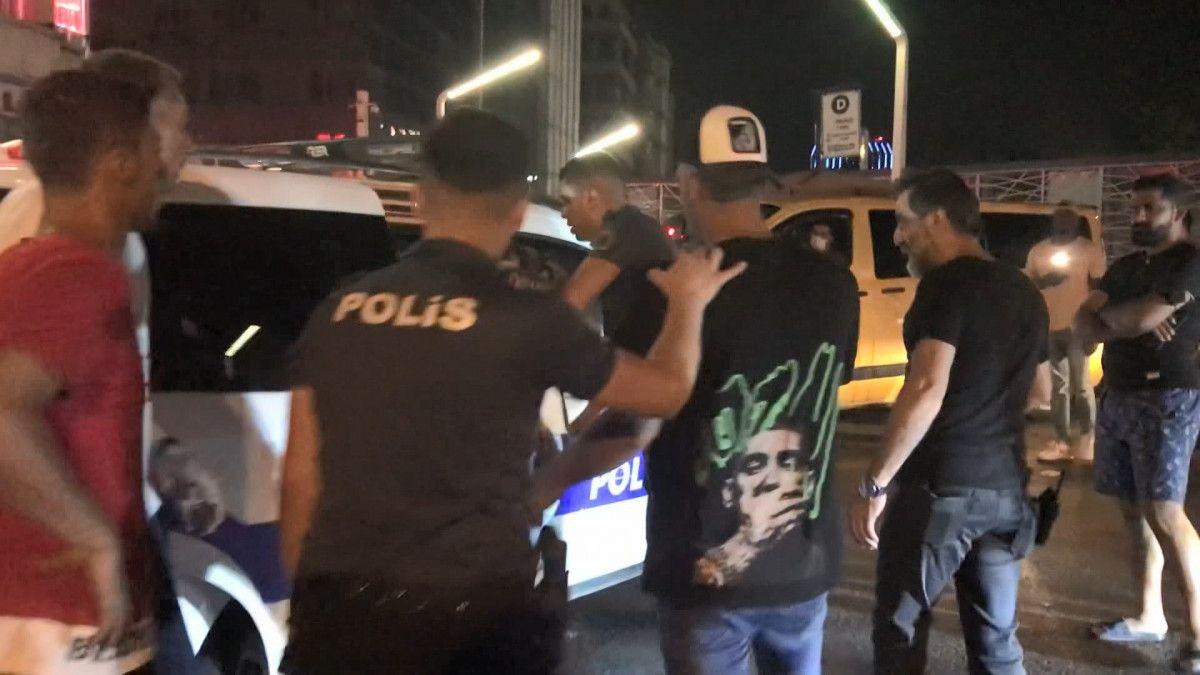 Taksim de tekme tokat meydan kavgası #6