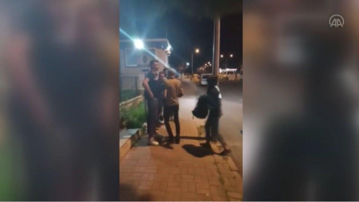 Tekirdağ'da panelvan araçtan 11 sığınmacı çıktı